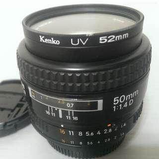 Nikon 50mm F1.4d 大光圈定焦鏡