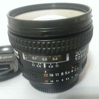 Nikon AF20mm F2.8D