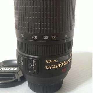 Nikon AF-S 70-300 mm f4.5-5.6G IF-ED VR