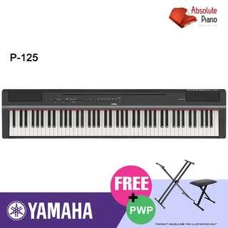 Yamaha Piano Fair @ Viva Business Park! YAMAHA P-Series Digital Piano P-125 (without stand)