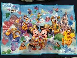 🚚 迪士尼30週年野餐墊