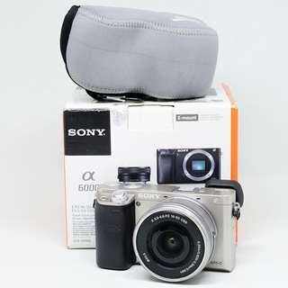 Sony A6000 Kit Silver USED