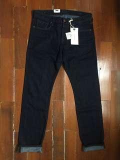 Jeans Slim Fit Regular Pria Scotch & Soda Indigo Scotch Soda