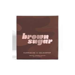 [ READY STOCK ] AUTHENTIC Colourpop Brown Sugar Palette