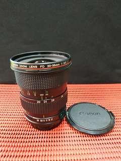 Rare - Canon FD 20-35mm F3.5 L