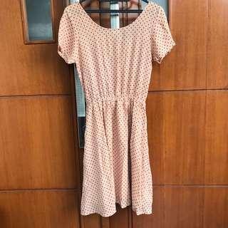 Dress pink pastel vintage #paydaymaret
