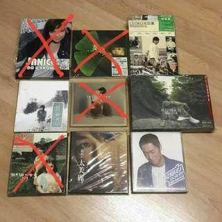 CD (古巨基 馬浚偉 衞蘭 泳兒 陶喆 周杰倫 蘇永康 葉德嫻)