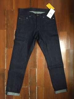 Jeans Slim Fit Pria H&M Original Selvedge Man Men Pants HM
