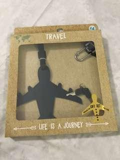 Travel tag & padlock Primark