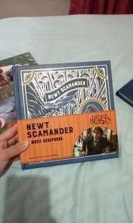 Harry Potter - Newt Scamander scrapbook