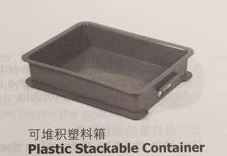 🚚 Unica Plastic Stackable Food Containers with cover