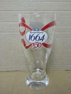 1664 啤酒杯 350週年 17cm高