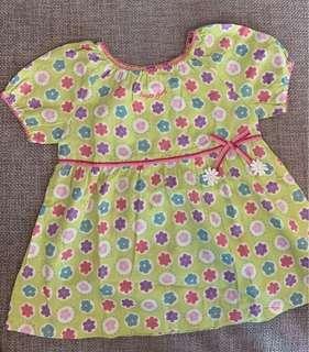 BB女裙 baby girl summer dress (6-9mths)