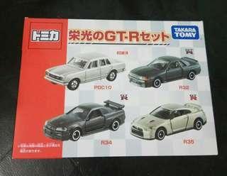 Takara Tomy GTR Set PGC10 32 34 35