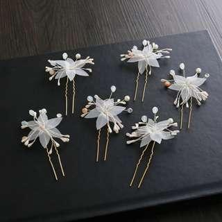 {RENT} Floral Hairpins (RPC-002)