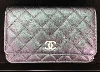 19S Chanel iridescent WOC