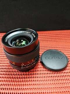 Contax 28mm F2.8 T* carl Zeiss