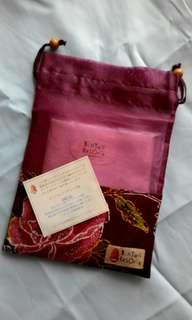 Ladies' Towel in Satin Carrier (free gift: 1 French Pascal Morabito shower cap)