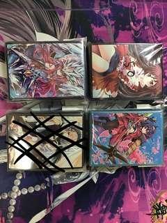 Anime card sleeves