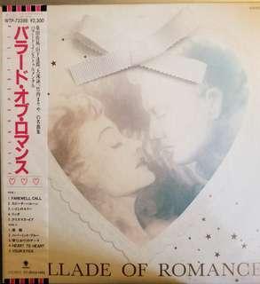 Ballade Of Romance 桑田佳祐 山下達郎 大痷詠一 竹內瑪莉亞 純音樂 作品精選 黑膠大碟