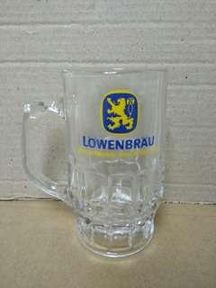 盧雲堡啤酒杯 全新 13cm高 lowenbrau