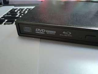 Panasonic blu ray writer 外置 藍光碟 燒碟機 100% works