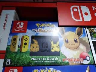Nintendo Switch Eevee edition @ $599