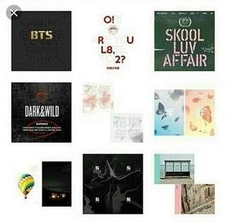 looking for bts albums