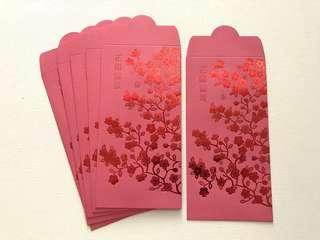 6pcs NETS Singapore 2019 red packet / ang pow pao