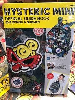 Hysteric mini 黑超奶咀bb 背包連雜誌