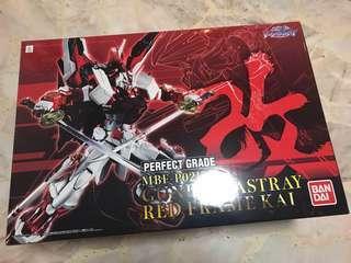 Bandai Perfect Grade astray red frame.