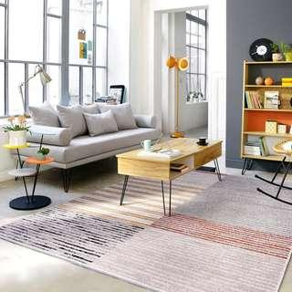 Nordic Serenity Rug | Scandi Living Room & Bedroom | Carpet