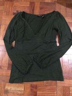 Authentic Mango Suit cotton blouse