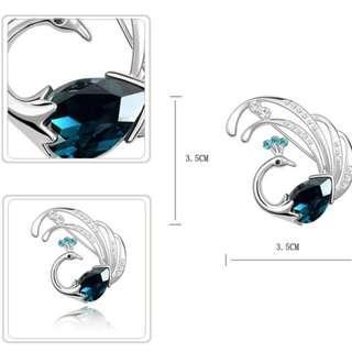 ★Brooch/Necklace - Phoenix / Peacock★
