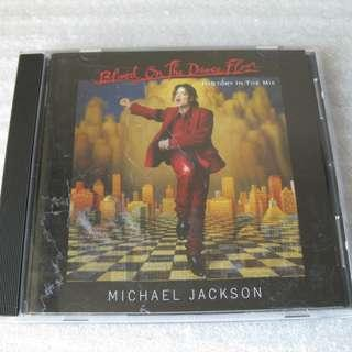 CD MICHAEL JACKSON BLOOD ON THE DANCE FLOOR HISTORY IN THE MIX 93%NEW