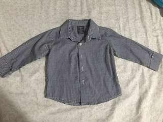 Preloved Dockers checkered polo for baby