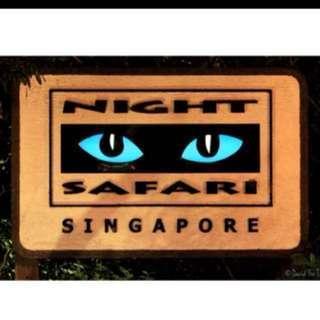 Night Safari buy free tram