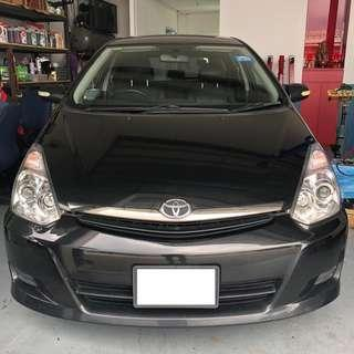 Toyota Wish for Rental