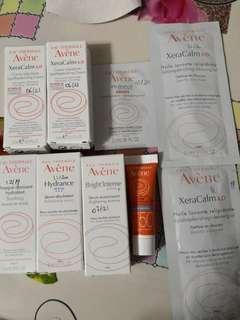 Avène Avene Samples serum, cream, lotion