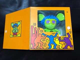 🚚 Limited Edition Keith Haring Andy Mouse Figurine from 360Toy