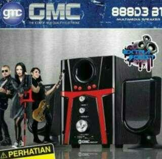 Speaker Aktif GMC BLUETOOTH 888D3 SUPER BASS