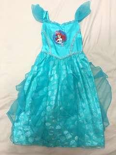 🚚 Authentic Disney Ariel little mermaid costume dress birthday party