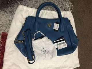 Brand new Prada BR4992 Vitello Daino Tote Bag