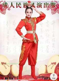 🚚 變裝花木蘭穆桂英角色戲服表演服大尺碼
