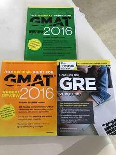 GRE And GMAT books
