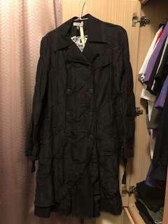 vassalli黑色大衣 原價上萬
