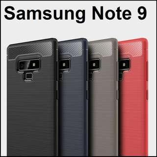 Samsung Galaxy Note 9 Matte Armour Case Casing Cover