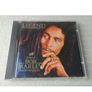 CD THE BEST OF BOB MARLEY LEGEND & THE WAILERS 93%NEW CD MADE IN UK NO WOMAN NO CRY