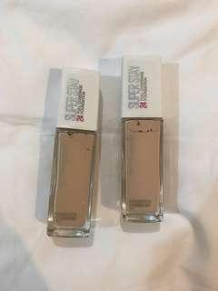 🚚 BN Maybelline Super Stay 24h Full Coverage Foundation
