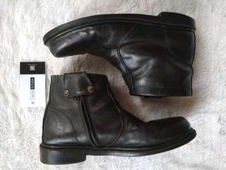 Sepatu Leather Boots STIA Abri